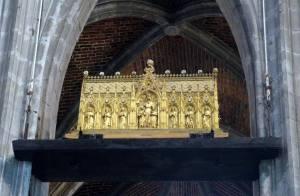 Châsse des reliques de Sainte Waudru